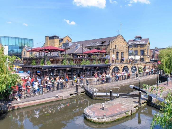 Camden Town London cleaning services location