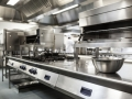 Deep cleaning of commercial kitchen