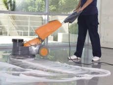 floor buffing leicester