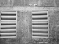 Types of ventilation - external galvanised vent covers