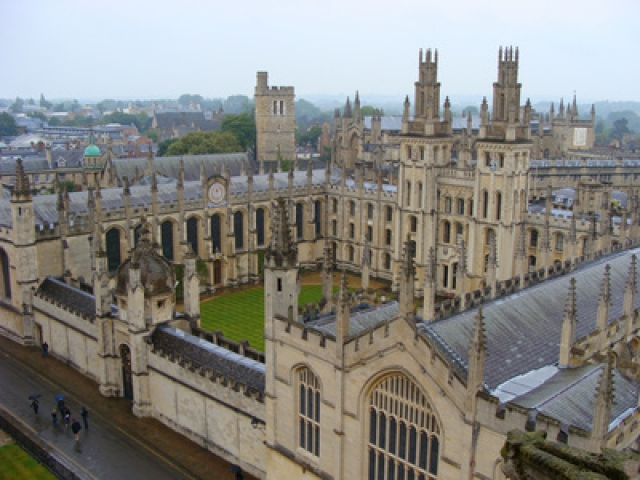 Views over Oxford Colleges